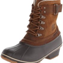 Sorel Winter Fancy Lace II Boot in ElkGrizzly Bear Color