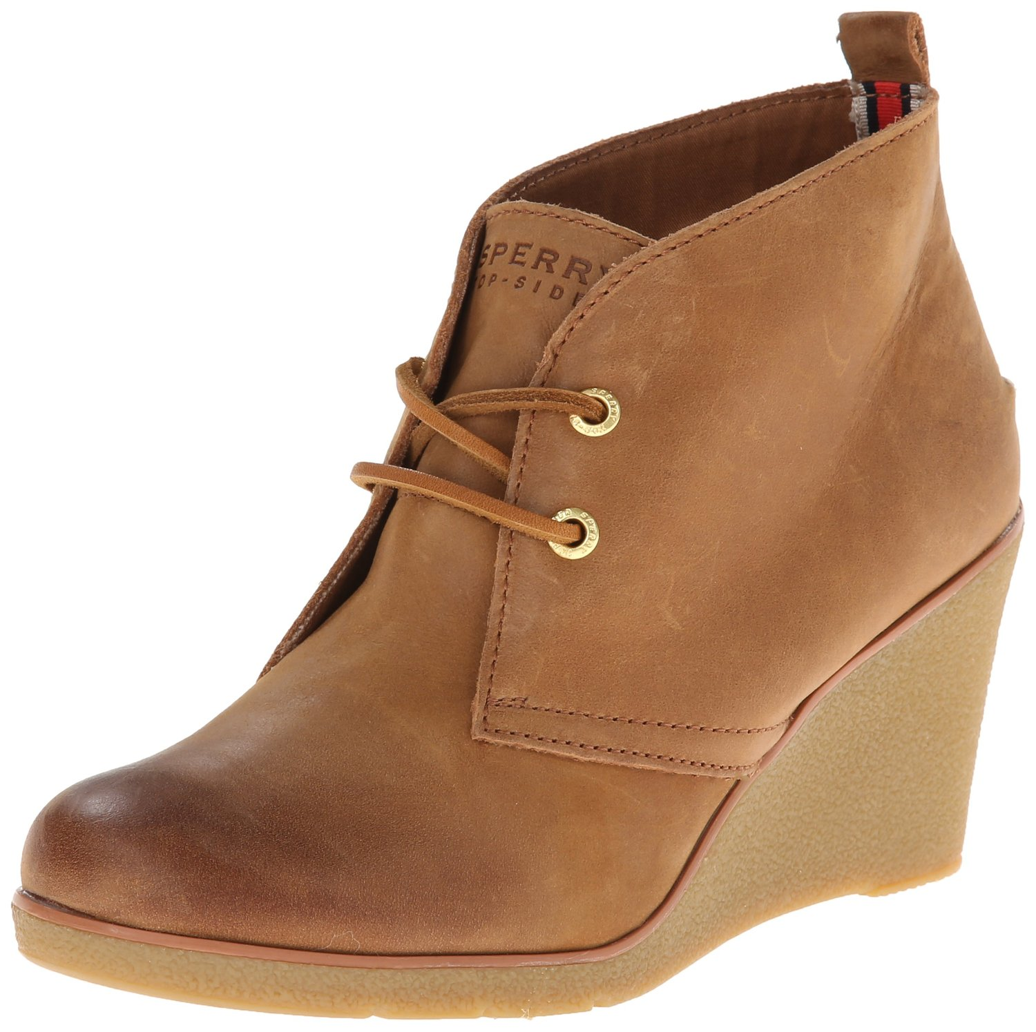 sperry top sider harlow burnished wedge