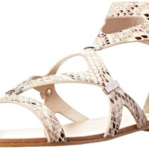 Steve Madden Comly Dress Sandal in Natural Snake Color