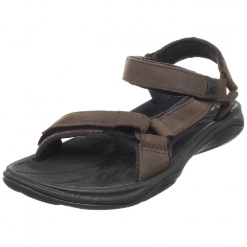 Teva Pretty Rugged Leather 3 Sandal in Bridger Color