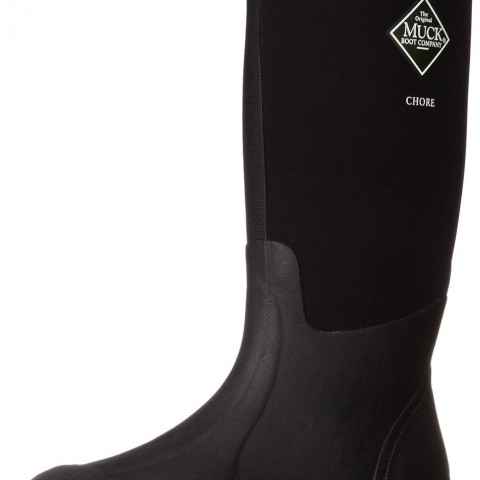 The Original MuckBoots Adult Chore Hi-Cut Boot in Black Color