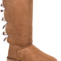 UGG Bailey Bow Tall in Chestnut Color