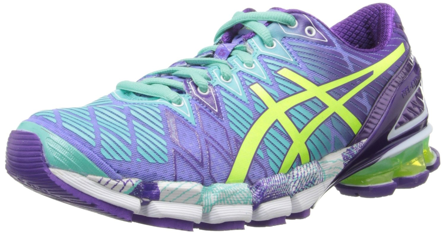 check out 63502 a26eb ASICS GEL-Kinsei 5 Running Shoe PeriwinkleFlash Yellow-Mint