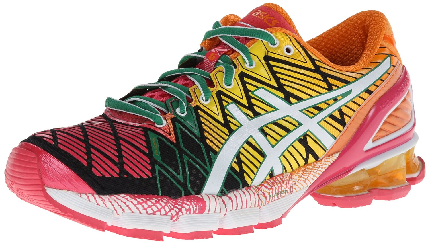womens asics gel kinsei 5 running shoes