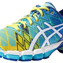 ASICS GEL-Kinsei 5 Running Shoe Yellow-White-Turquoise