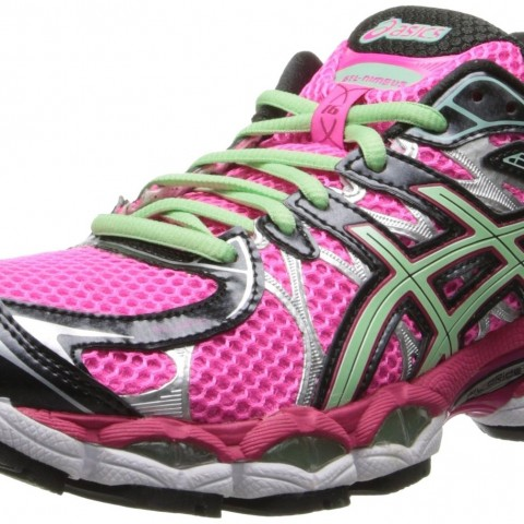 ASICS GEL-Nimbus 16 Running Shoe Blackhotpinkgreen