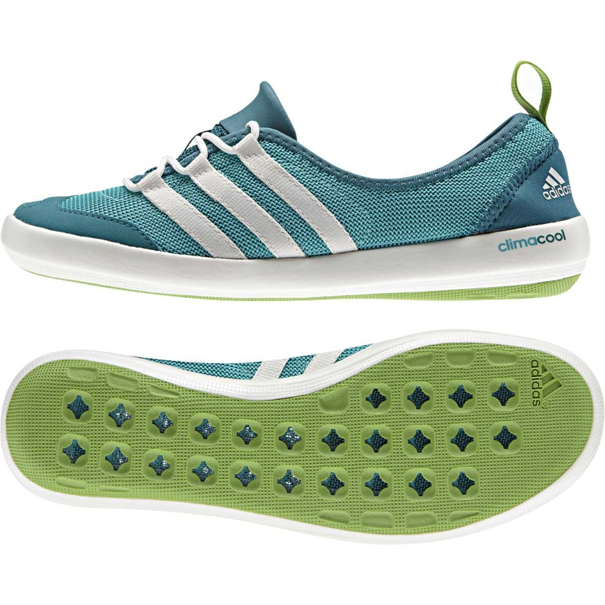 c39df0a2379e01 ... usa adidas climacool boat sleek water shoes semi solar slimechalkpower  teal ce08f eb725