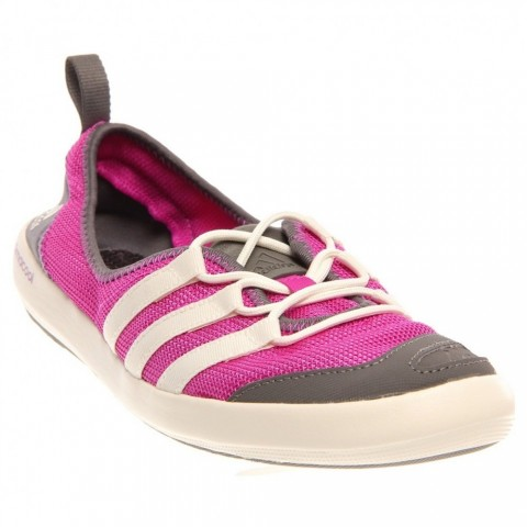 Adidas Climacool Boat Sleek Water Shoes Vivid PinkChalkSharp Grey