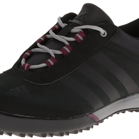 Adidas Outdoor 2014 Daroga Sleek Leather Hiking Shoe Black Amazon Red