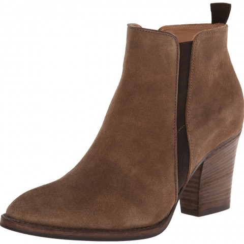 Aquatalia by Marvin K. Fiddle Western Boot Taupe Washed Suede