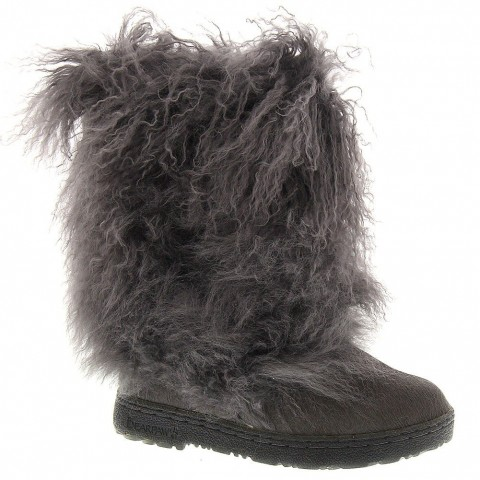 BEARPAW Boetis II Mid-Calf Boot Charcoal