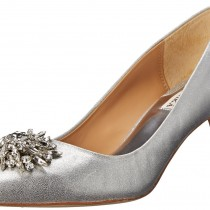 Badgley Mischka Gardenia II Dress Pump SilverMettalic