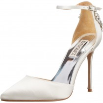 Badgley Mischka Gem Dress Pump white