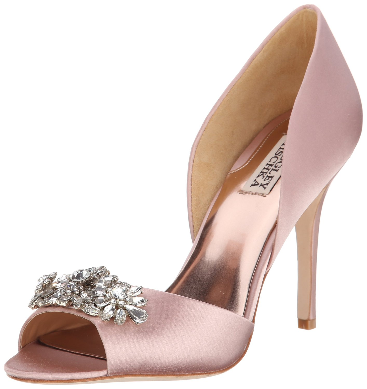a44f2cd2cb6 Badgley Mischka Giana D Orsay Pump BlushSatin