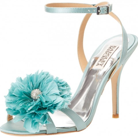 Badgley Mischka Karol Dress Sandal Sky Blue