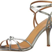 Badgley Mischka Kendal II Dress Sandal Silver Leather