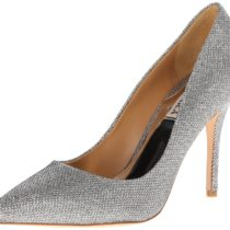 Badgley Mischka Luster Dress Pump Silver