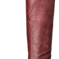 Chinese Laundry Fawn Leather Riding Boot Bordeaux