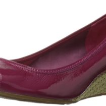 Cole Haan Air Tali OT 40 Wedge Pump Raspberry Patent