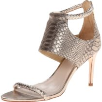 Cole Haan Lise Dress Sandal champaign snake print