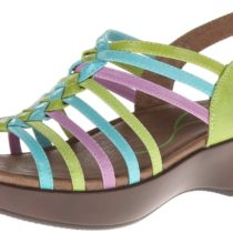 Dansko Dana Dress Sandal Bright Multi