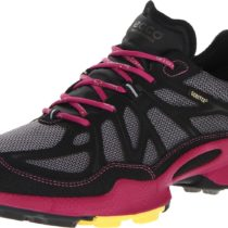ECCO Biom Trail Argon GTX Running Shoe BlackFushia