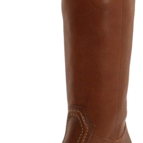 FRYE Jane 14L Boot Redwood Pebbled Full Grain