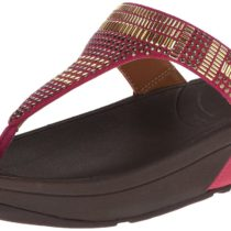 FitFlop Aztec Chada Thong Sandal Rio Pink