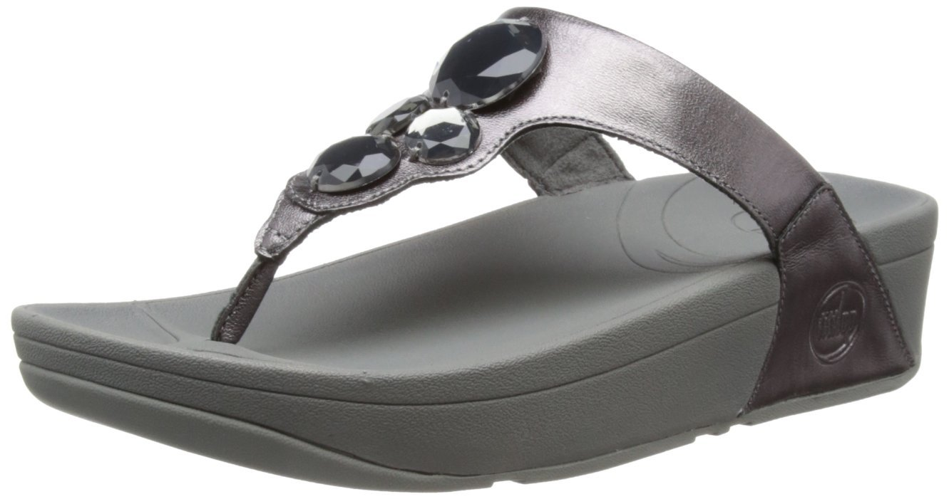 15f5786341bf FitFlop Lunetta Thong Sandal Pewter · FitFlop Lunetta Thong Sandal Urban  White