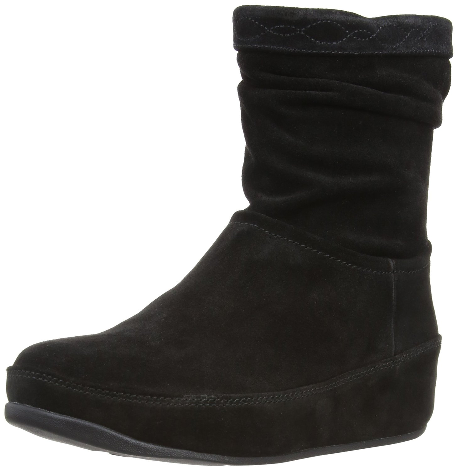 fitflop zip up crush suede boot. Black Bedroom Furniture Sets. Home Design Ideas