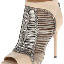 L.A.M.B. Kacee Dress Sandal VanillaGunmetal