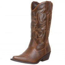 Madden Girl Sanguine Boot Brown Paris