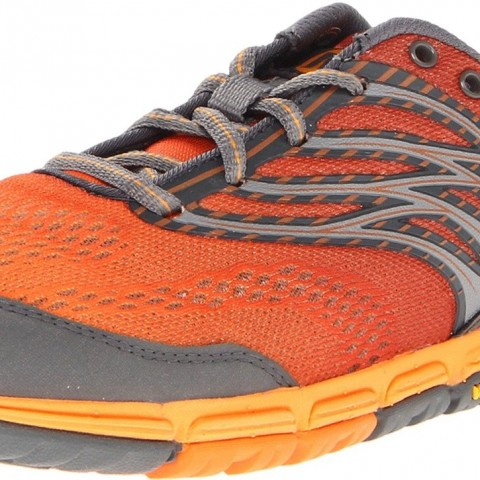 Merrell Ascend Glove Minimal Running Shoe Orange