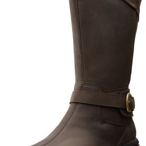 Merrell Captiva Buckle-Down Waterproof Boot Espresso