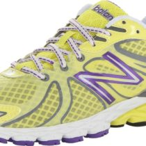 New Balance W870v3 Running Shoe Yellowpurple