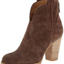 Nine West Cally Suede Boot Brown