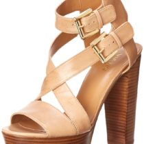 Nine West Campallo Leather Dress Sandal Light Natural