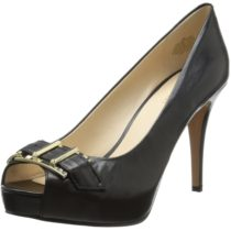 Nine West Celestine Leather Dress Pump Black