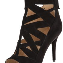 Nine West Delfina Suede Dress Sandal Black
