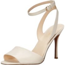 Nine West Flicker Leather Dress Sandal Off white