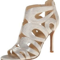 Nine West Flora Metallic Dress Sandal Gold