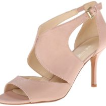 Nine West Galavan Leather Dress Sandal Pink