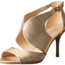 Nine West Galavan Metallic Dress Sandal Gold