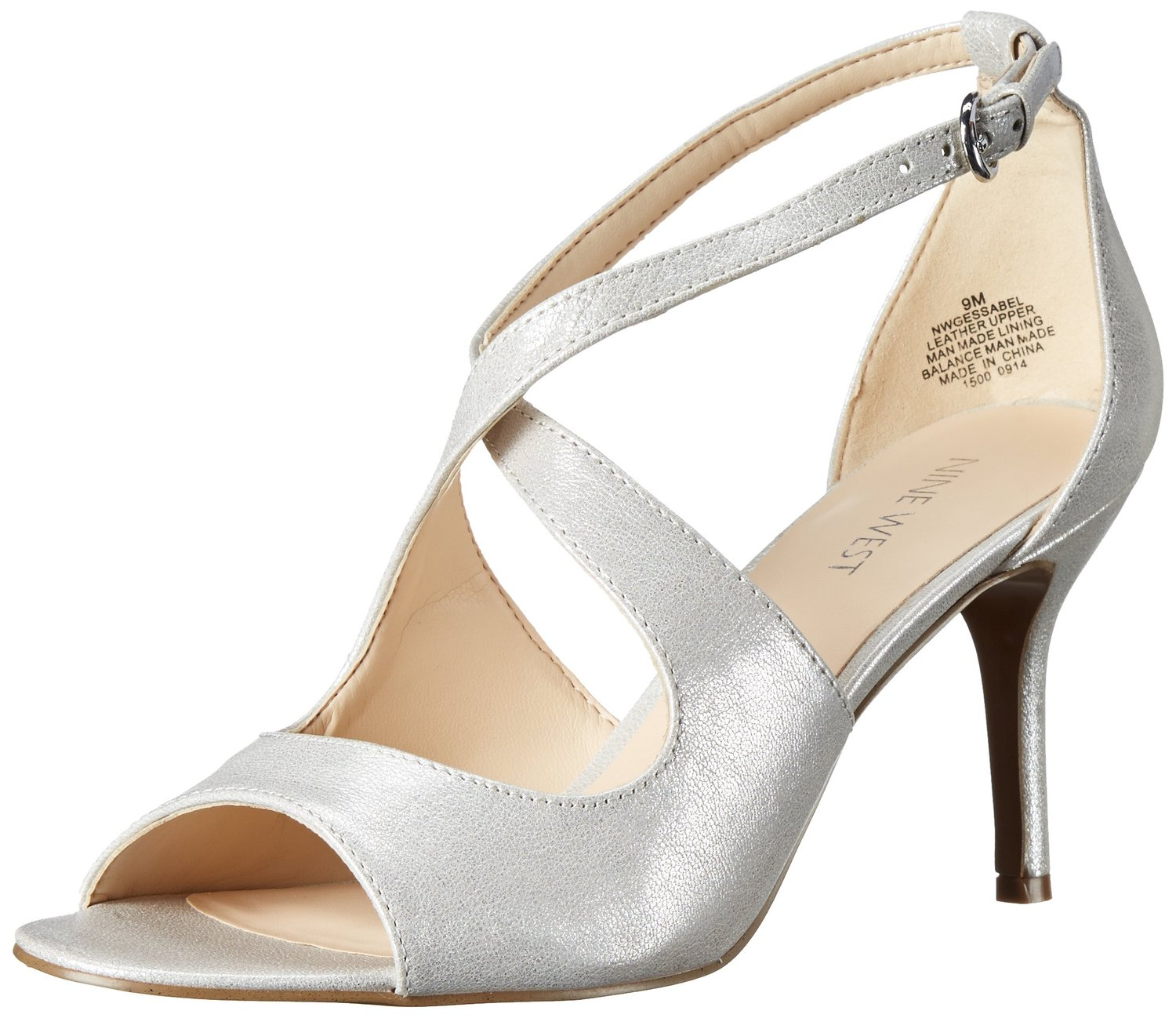 Nine West Gessabel Metallic Dress Sandal