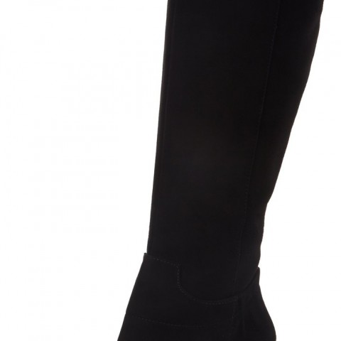 Nine West Getta Boot Black Suede
