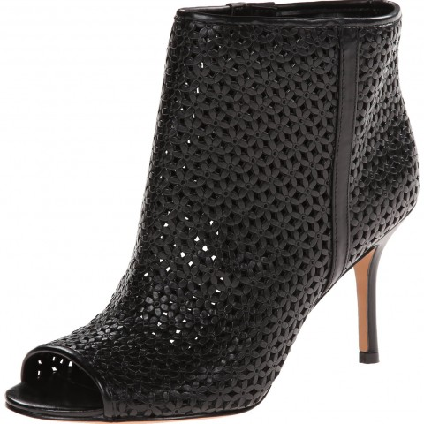 Nine West Glyn Leather Boot Black