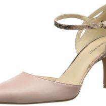 Nine West Kramer Leather Dress Pump Pink