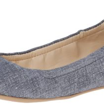 Nine West Mistyray Leather Ballet Flat Blue