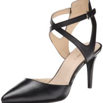 Nine West Paddysday Leather Dress Pump Black