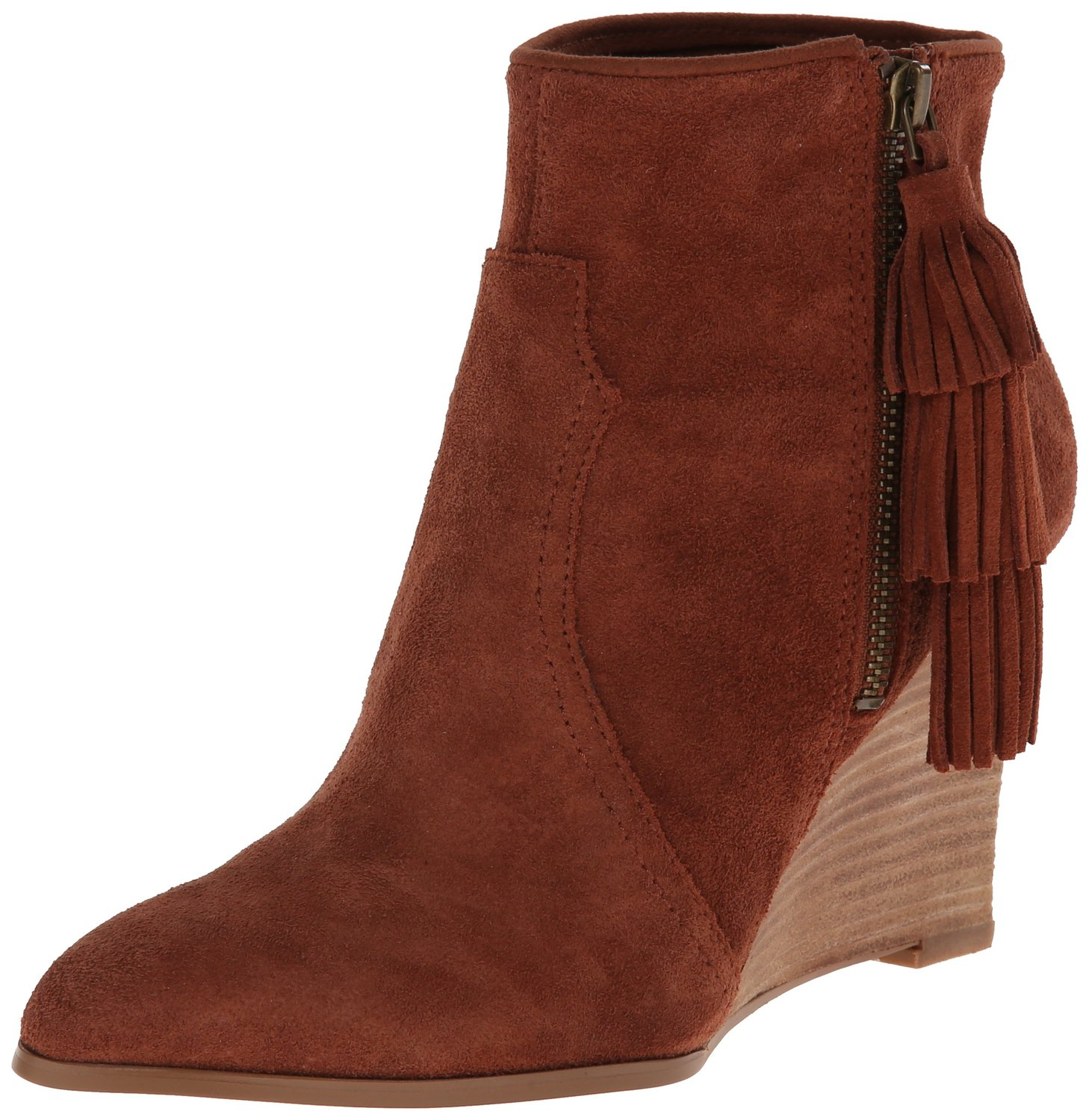 nine west retrolook suede boot